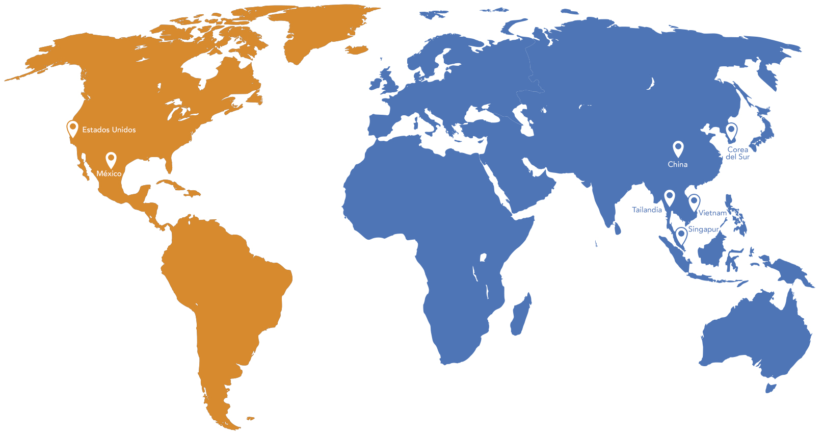 mapa mundial mind builders